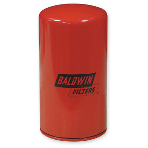 Baldwin Filters B7125 Spin-On Oil Filter, Full-Flow, 1 1/2 in. Thread, 12 Microns, Each
