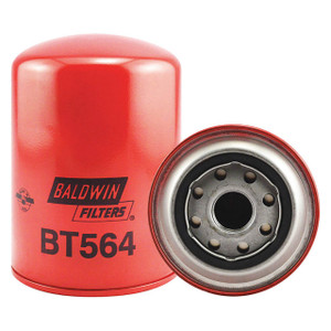 Baldwin Filters BT564 Spin-On Oil Filter, Full-Flow, 1 in. Thread, 18 Micron, Each