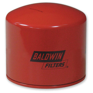 Baldwin Filters BT343 Spin-On Oil Filter, Full-Flow, 1 1/8 in. Thread, 18 Micron, Each