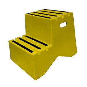 DPI™ Heavy Duty Plastic Steps, Two-Step