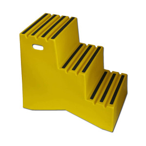 DPI™ Heavy Duty Plastic Steps, Three-Step