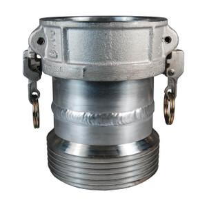 Dixon EZ Boss-Lock™ 4 in. Coupler x 5 in. Male Thread Tank Car Connection