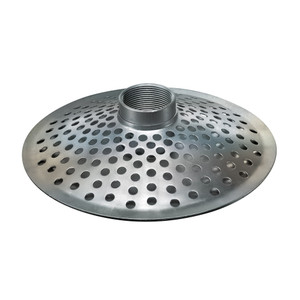 Kuriyama THS Series Top Hole Zinc Plated Steel Strainer - NPSM Threads