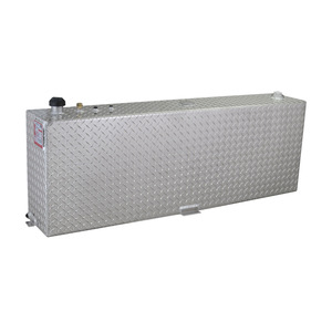 RDS Manufacturing 45 Gallon Aluminum Rectangular/Vertical DOT Certified Transfer Tank