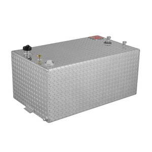 RDS Manufacturing 55 Gallon Aluminum Rectangular DOT Certified Transfer Tank
