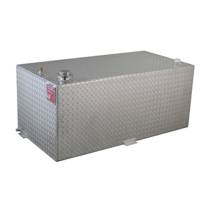 RDS Manufacturing 95 Gallon Aluminum Rectangular DOT Certified Transfer Tank