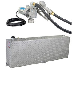 RDS 45 Gallon Aluminum DOT Certified Tank with 8 GPM Transfer Pump