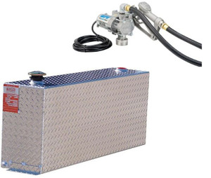 DOT Certified 38 Gallon Transfer Tank with GPI 8 GPM Pump