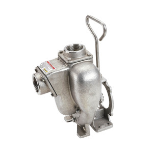 Banjo 2 in. Stainless Steel Centrifugal Pump w/ 3/4 in. Shaft Sleeve
