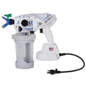 Graco SaniSpray HP 20 Corded Handle Airless Disinfectant Sprayer, 20 oz. per Minute, 15 Gallons