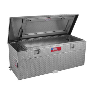 RDS Manufacturing 51 Gallon Aluminum Diesel Auxiliary Tank/Toolbox Combo