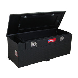 RDS Manufacturing 51 Gallon Powder Coated Aluminum Diesel Auxiliary Tank/Toolbox Combo