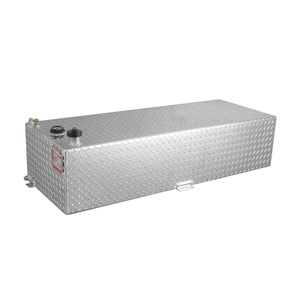 RDS Manufacturing 60 Gallon Rectangular Aluminum Diesel Auxiliary Tank