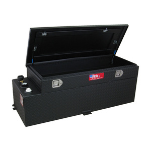 RDS Manufacturing 60 Gallon Powder Coated Aluminum DOT Certified Transfer Tank/Toolbox Combo