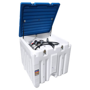 JME 120 Gallon Diesel Fuel Transfer Tank System - 12V DC Pump