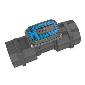 GPI TM Series 2 in. FNPT Electronic Water Flow Meter with LCD Display