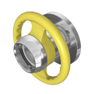 Dixon Stainless Steel Dry Evotek Coupling, Adapter x 150# Flange