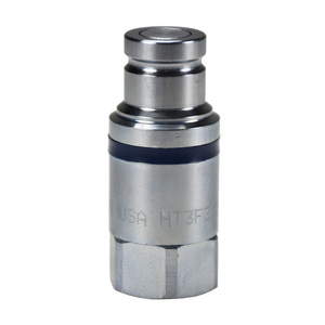 Dixon HT-Series 1/4 in. NPTF Correct Connect® Steel Flushface Female Threaded Plug
