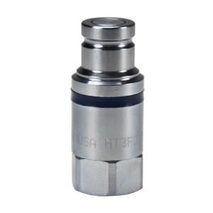 Dixon HT-Series 1 1/2 in. NPTF Correct Connect® Steel Flushface Female Threaded Plug