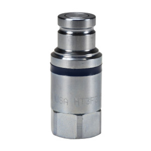 Dixon HT-Series 2 in. NPTF Correct Connect® Steel Flushface Female Threaded Plug