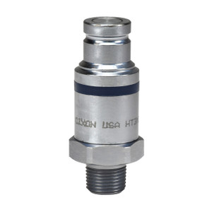 Dixon HT-Series 3/8 in. NPTF Correct Connect® Steel Flushface Male Threaded Plug