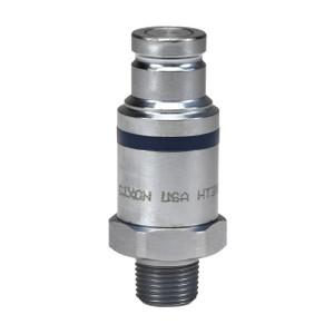 Dixon HT-Series 1/2 in. NPTF Correct Connect® Steel Flushface Male Threaded Plug