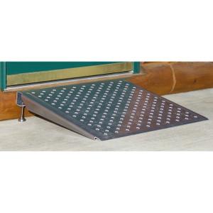 HD Ramps Adjustable Aluminum Threshold Ramp, 600 lb. Capacity