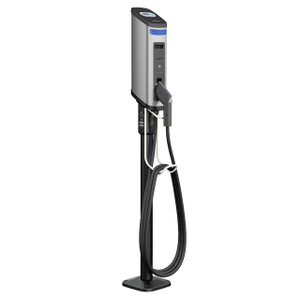 Gilbarco Amps2Go Series 6 Smart EV Charging Station Single Port Pedestal Station