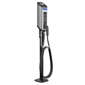 Gilbarco Amps2Go Series 6 Smart EV Charging Station Single Port Pedestal Station