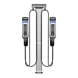 Gilbarco Amps2Go Series 6 Smart EV Charging Station Dual Port Wall Station