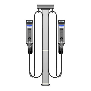 Gilbarco Amps2Go Series 6 Smart EV Charging Station Dual Port Wall Station