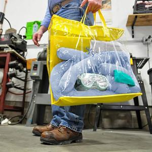NPS Spilfyter Oil Only Zipper Bag 5 Gallon Spill Kit