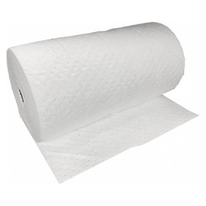 NPS Essentials 30 in. x 300 ft. Oil Only Single-Ply Lightweight Sorbent Roll