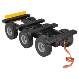 Vestil Heavy-Duty All Terrain 1,000 lb. Capacity Multi-Purpose Dolly, 6 Wheels