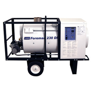 L.B. White Foreman® 230 DF 230,000 BTU Indirect Fired Dual Fuel LP/NG Heater