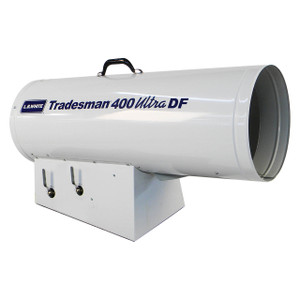 L.B. White Tradesman® 400 Ultra DF Forced Air 400,000 BTU Direct Fired Dual Fuel LP/NG Open Flame Heater