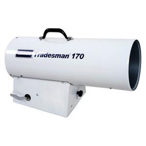 L.B. White Tradesman® 170 Forced Air 170,000 BTU Direct Fired LP Open Flame Heater