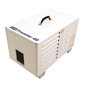 L.B. White Premier 40 Enclosed Flame Ductible 40,000 BTU LP Heater w/Thermostat and Hose