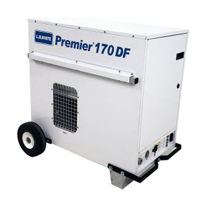 L.B. White Premier 170 DF Enclosed Flame Ductible 170,000 BTU Duel Fuel Heater w/Thermostat and Hose