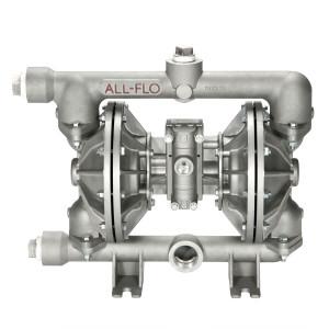 All-Flo A Series 1 1/2 in. NPT Aluminum Air Diaphragm Pumps, 115 GPM w/Buna-N Diaphragm & O-Ring, Polyp Seat & Geolast Valve/Ball