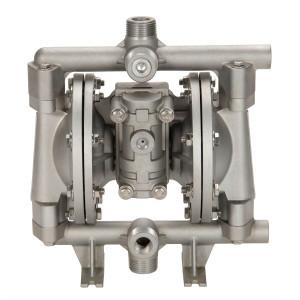 All-Flo A Series 1/2 in. NPT Aluminum Air Diaphragm Pumps, 15 GPM w/PTFE Diaphragm, O-Ring, Valve & Ball, Nylon Seat