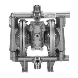 All-Flo A Series 1/2 in. NPT Stainless Steel Air Diaphragm Pumps, 15 GPM w/PTFE Diaphragm, O-Ring, Valve & Ball, Stainless Seat