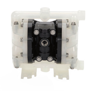 All-Flo A Series 1/4in. FNPS Poly Air Diaphragm Pumps, 5.7 GPM w/PTFE Diaphragm, Valve & Ball, EPDM O-Ring, Polypropylene Seat