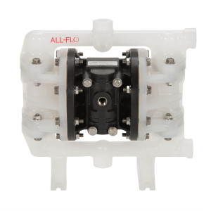 All-Flo A Series 1/2 in. FNPT Poly Air Diaphragm Pumps, 17 GPM w/PTFE Diaphragm, Valve & Ball, EPDM O-Ring, Polypropylene Seat