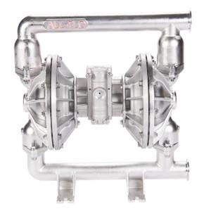 All-Flo F Series 1 1/2 in. Tri-Clamp All-Pur FDA Pumps, 115 GPM w/Hytrol Diaphragm, Buna-N Valve, Ball & O-Ring, SS Seats