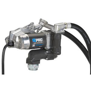 GPI V25-012MD 12V DC Transfer Pump w/ Manual Diesel Nozzle - 25 GPM