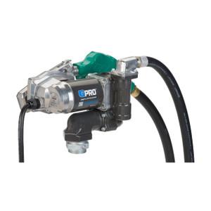 GPI V25-012AD 12V DC Transfer Pump w/ Auto Diesel Nozzle - 25 GPM