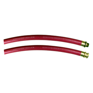 Gates Fuel Master™ Delivery 200 1 3/8 in. Fuel Oil Delivery Hose Assembly w/ Male NPT x Female NPSH Ends