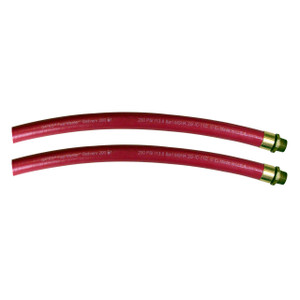 Gates Fuel Master™ Delivery 200 1 1/2 in. Fuel Oil Delivery Hose Assembly w/ Male NPT Ends