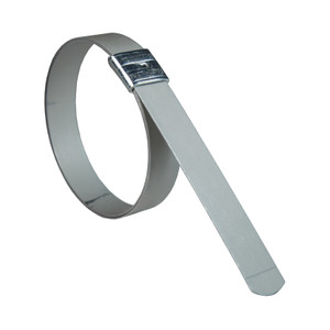 Dixon K Series 2 3/4 in. ID x 3/4 in. Wide Preformed Stainless Steel Band Clamp, 50 Box Qty